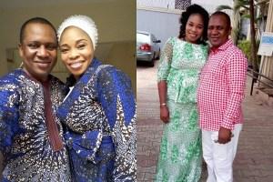 Gospel singer,  Tope Alabi and her husband Soji Alabi celebrate wedding anniversary
