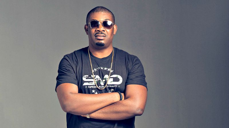 """""""I don dash u before"""" - Don Jazzy replies fan stylishly begging for money"""