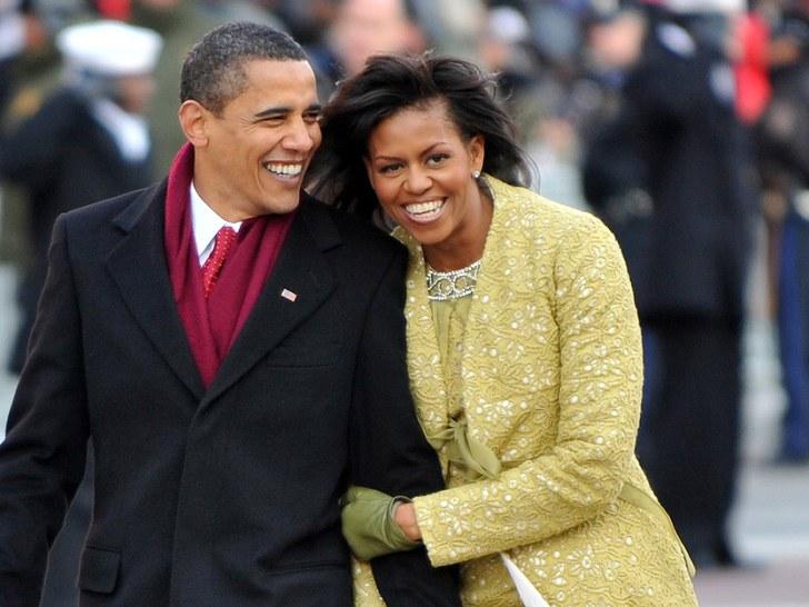 Michelle Obama Clocks 55