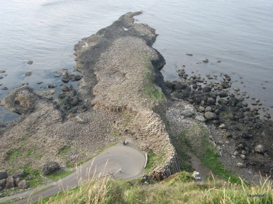 Basalt of Giants' Causeway - Northern Ireland