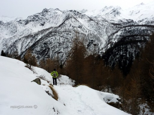 Ciaspolata Mont Avic