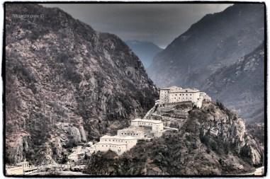 Tutta l'austerità del Castello di Bard