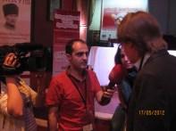 Intervista alla Tv turca