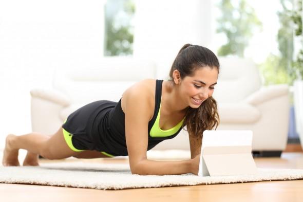 女性の自重トレーニング