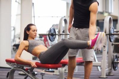 下っ腹を鍛える腹筋運動