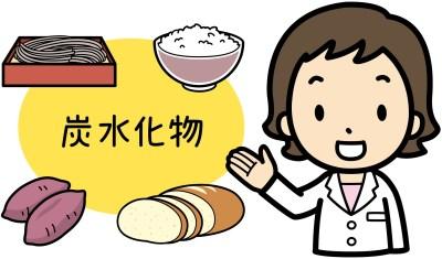 糖質を多く含む食べ物