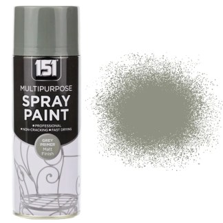 400ml 151 Grey Primer Spray Paint