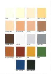mate exterior pintura pinturas colores carta plastica fachadas
