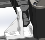 Y Axis Chassis Cable Chain Mounting