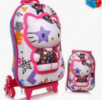 mochila da hello kitty
