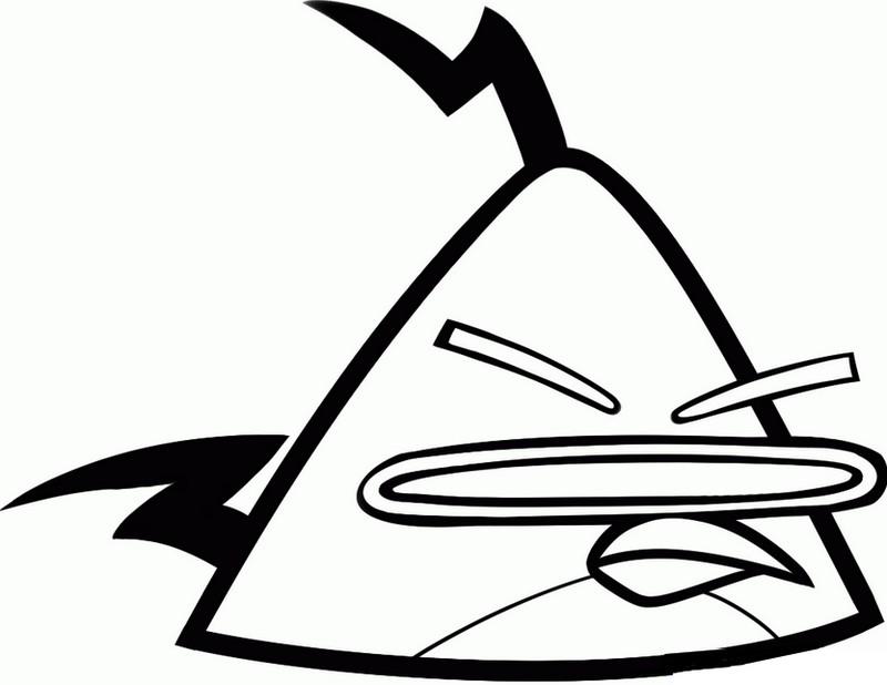 Imprima E Pinte Os Desenhos Dos Angry Birds