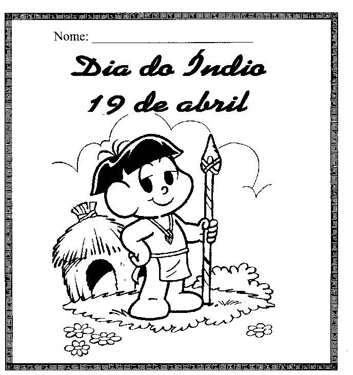 atividades para dia do indio