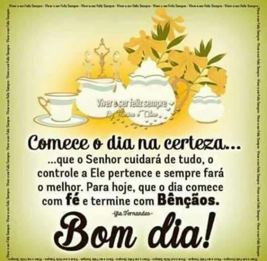 Mensagens De Bom Dia Para Amigos Do WhatsApp E Facebook