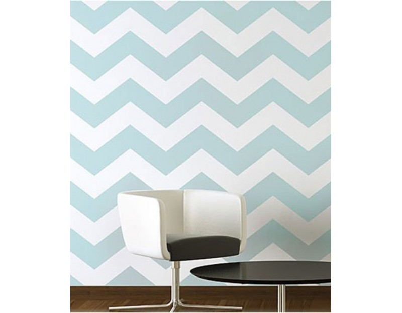 papel chevron azul para decoracao