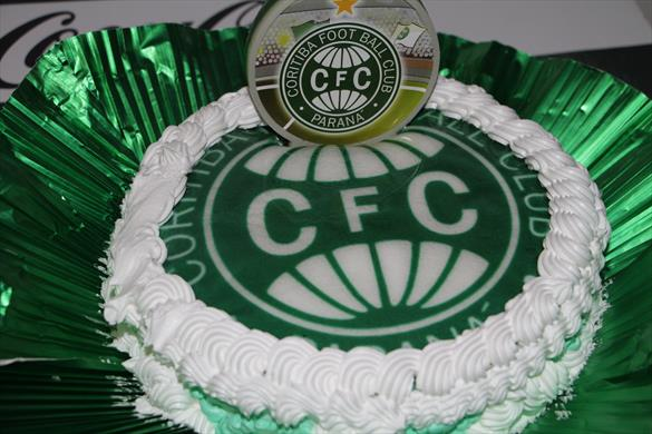 bolo decorado do coritiba
