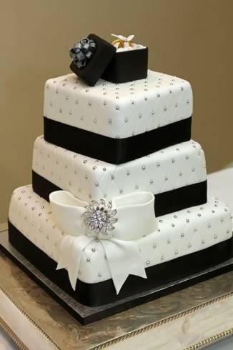 Escolha Um Dos Belos Bolos Decorados Para Casamento Max