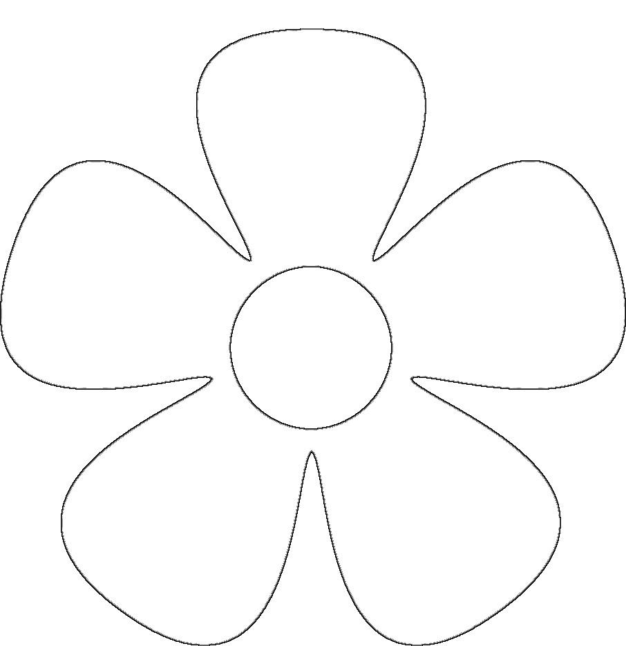 Escolha Otimos Moldes De Flores Em Eva Para Imprimir Max Dicas