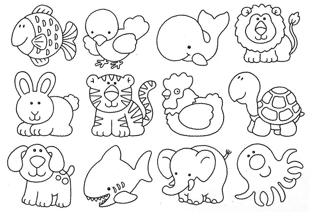 Desenhos De Animais Para Colorir Colorir