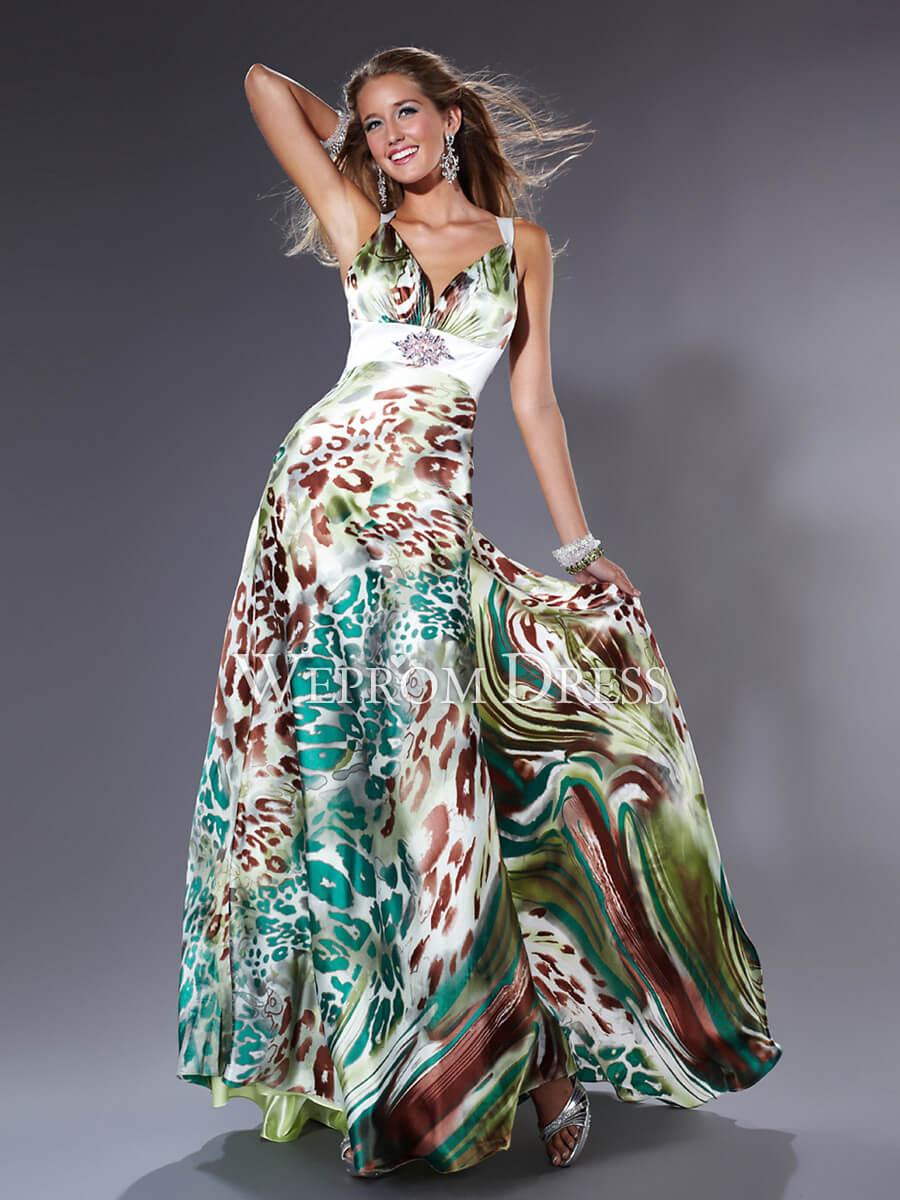 Vestidos longos estampados para o ver o max dicas for Modelos de jardines de invierno