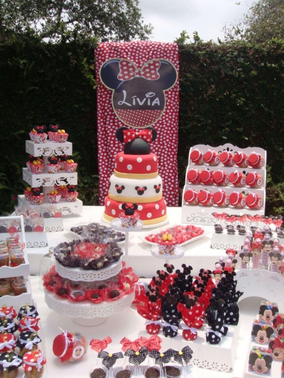 festa-infantil-decoracao-da-minnie