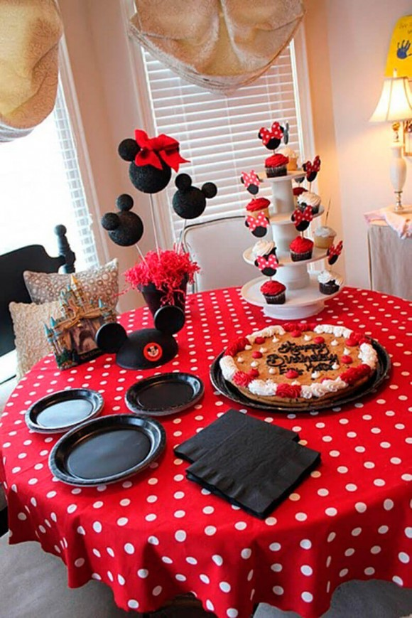 festas-com-decoracao-da-minnie