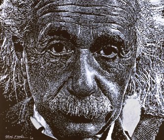 Einstein by Max Eberle