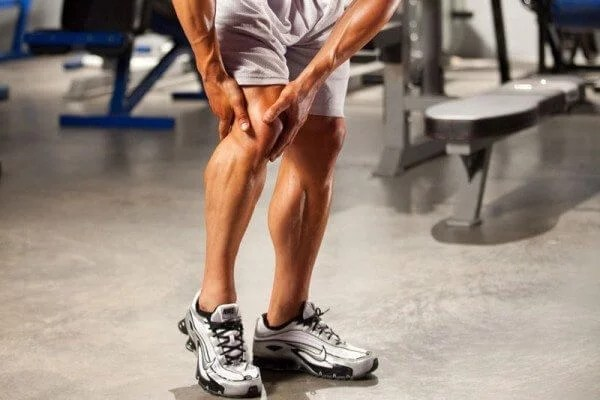 Take care not to damage your joints while working out.