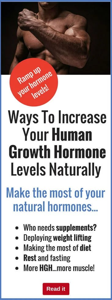 Easy Ways To Increase Your Human Growth Hormone Levels ...