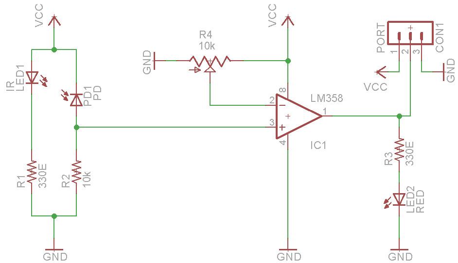 IR Sensor Circuit