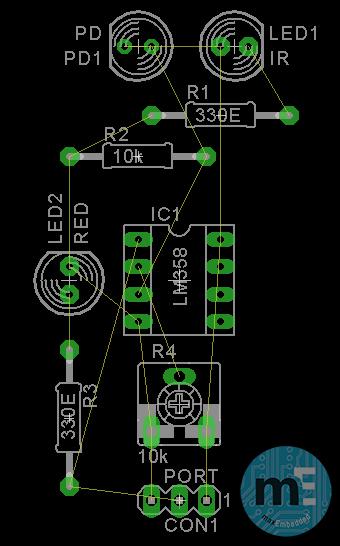 Step 2 - Final arrangement