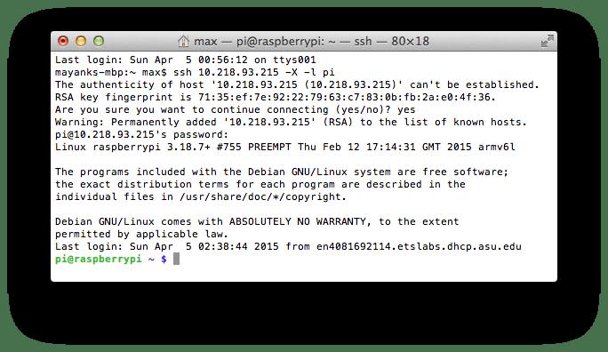 SSH with X11 Forwarding - Mac/Linux