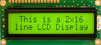 JHD 162A Character LCD