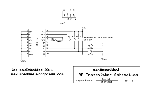 small resolution of rf transmitter section