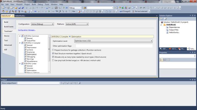 Atmel Studio Code Optimization