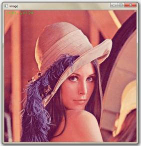 usingMouse.cpp on Lena