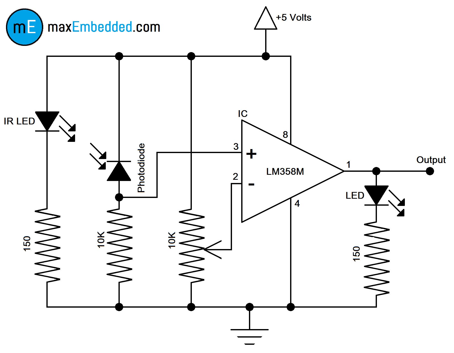 hight resolution of ir sensor circuit schematic wiring diagram online simple ir proximity sensor circuit diagram how to build