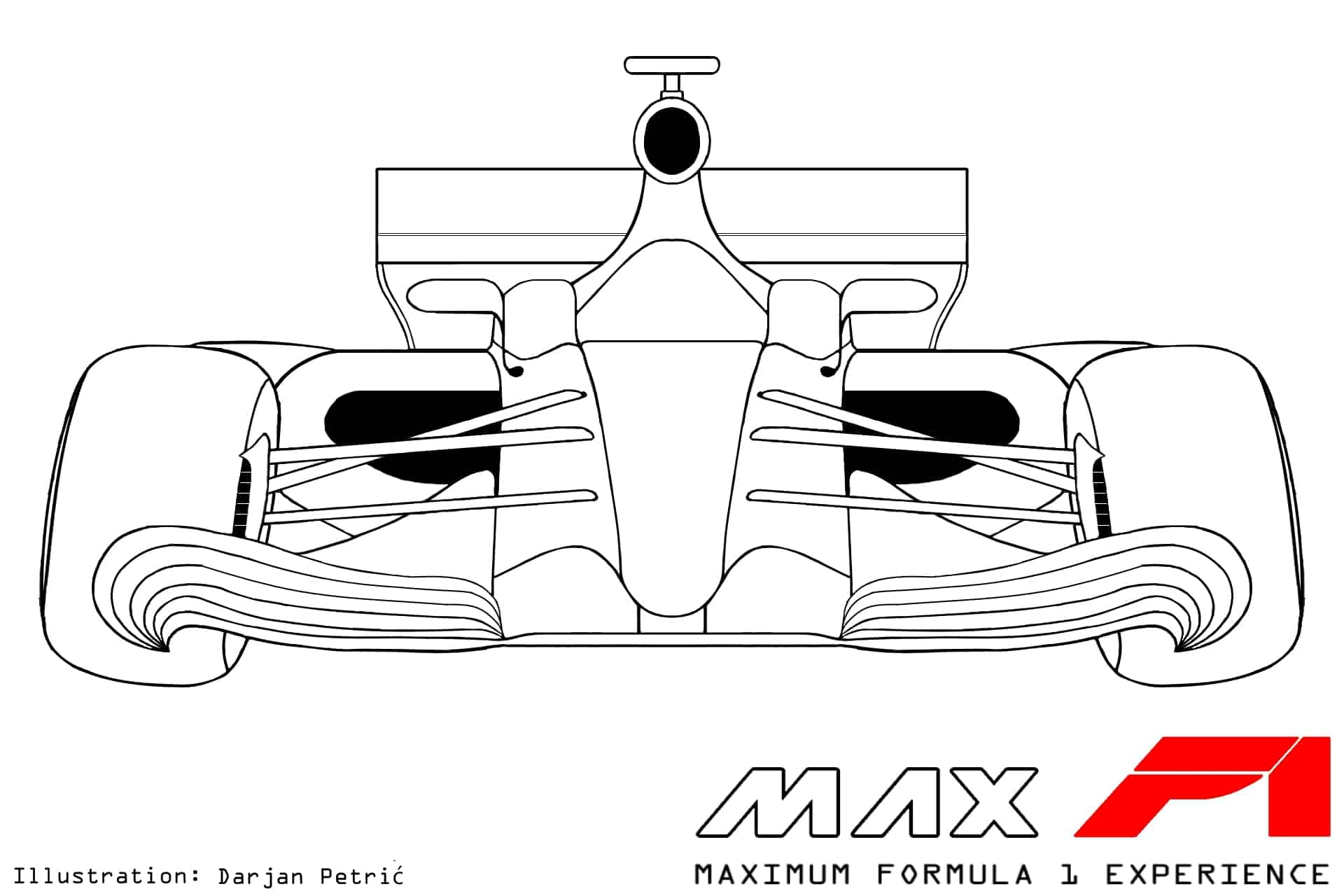 hight resolution of formula 1 2017 car front technical drawing by darjan petric maxf1 net eng red