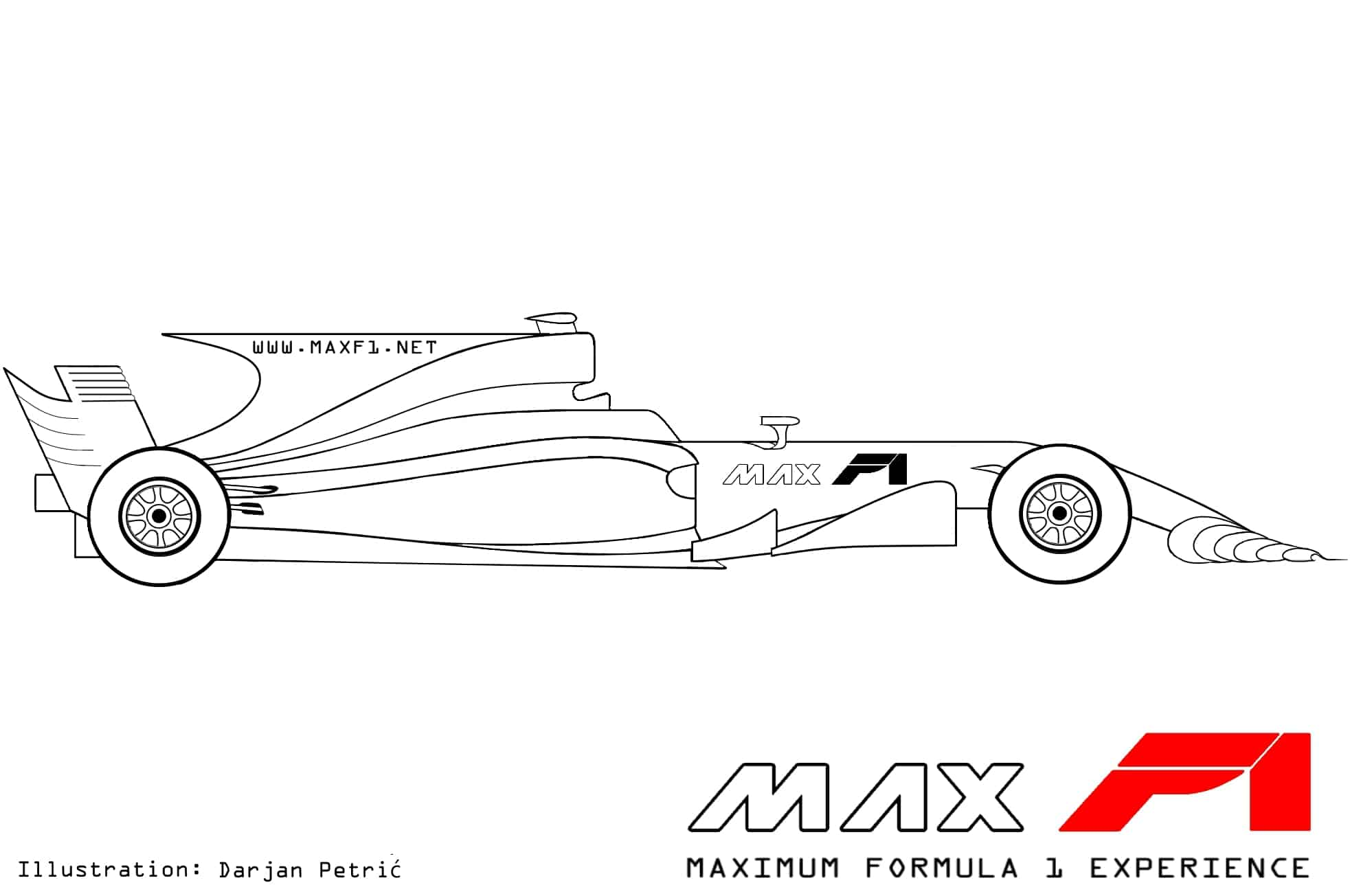 hight resolution of formula 1 2017 car side technical drawing by darjan petric maxf1 net eng red