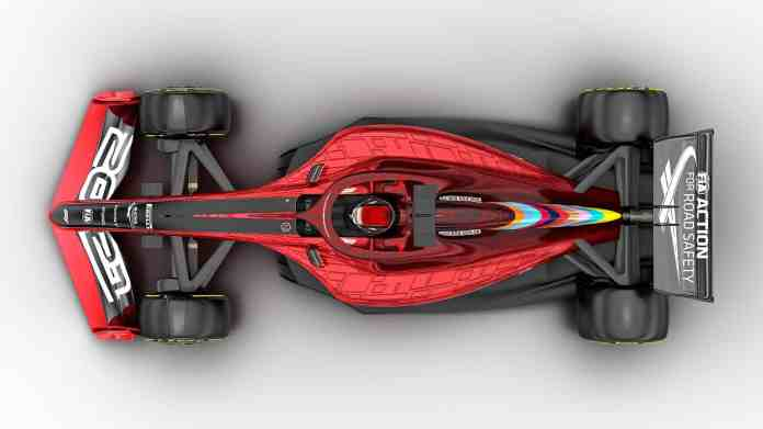 2021 F1 Car released on Oct 31 2019 top view Photo Formula 1