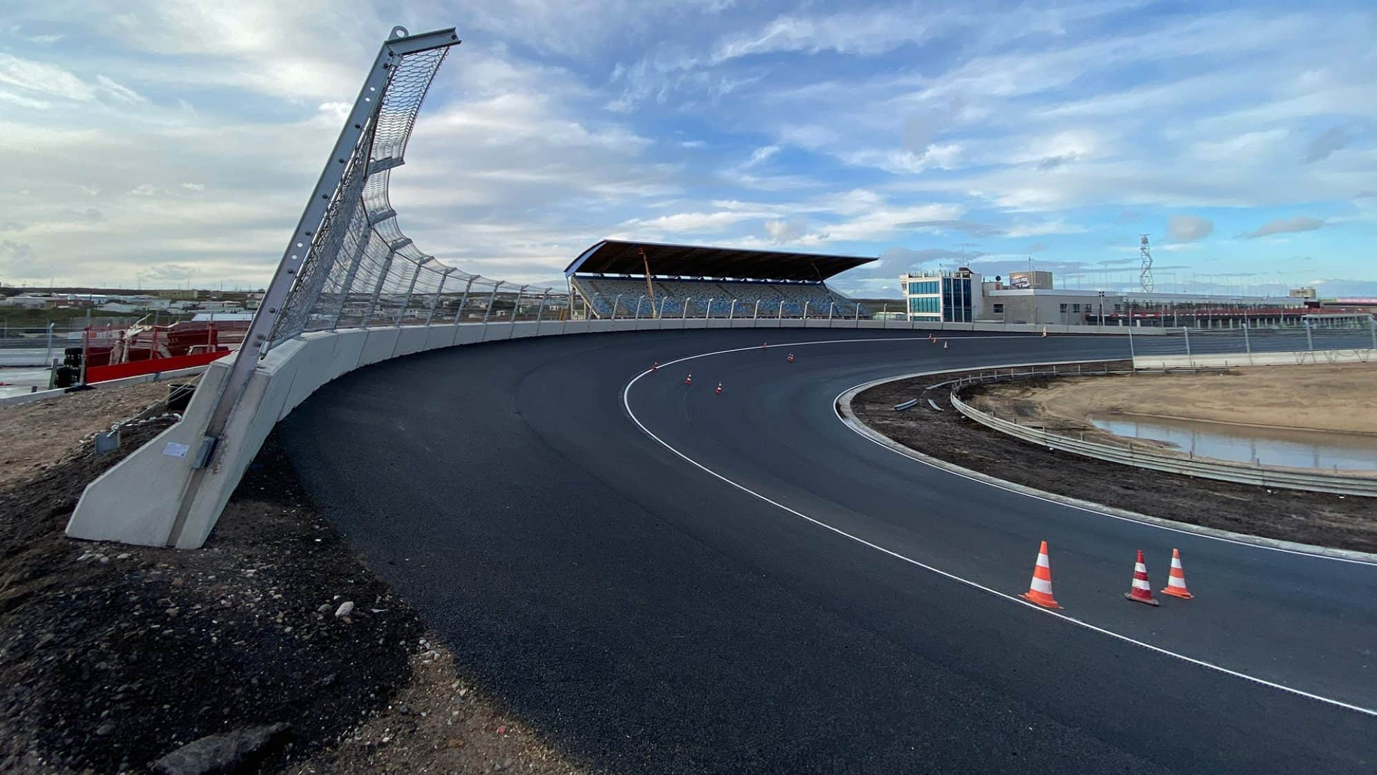 Work On Zandvoort Surface Completed First Look On Banked