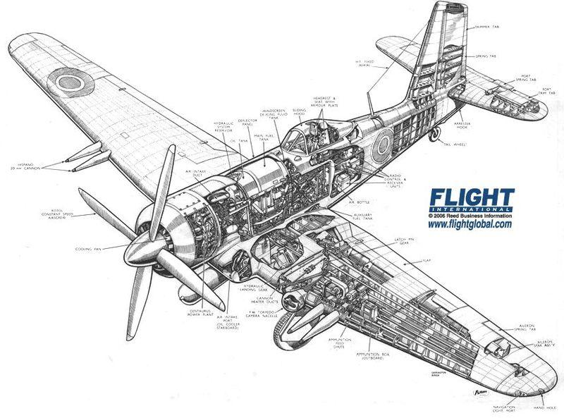 maxgadney.com: WWII Fighter Plane Silhouettes (1)