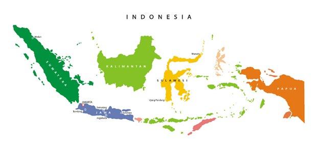 Letaknya berada di ujung paling timur indonesia.gambar peta dunia   info indonesia. Gambar Peta Indonesia Simple