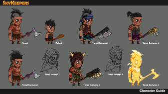 Main characters concept