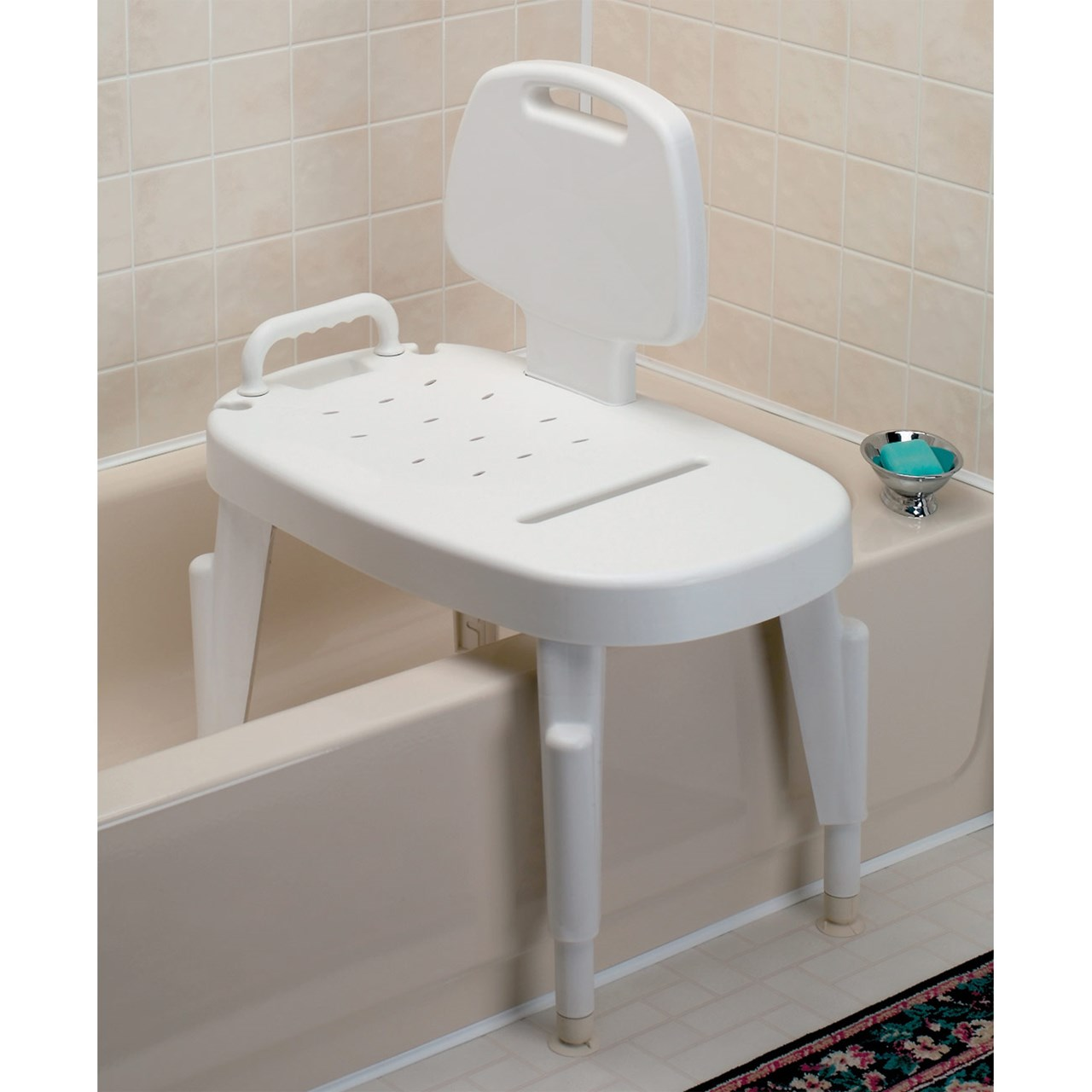 Chair For Bathtub Maxiaids Adjustable Transfer Bench