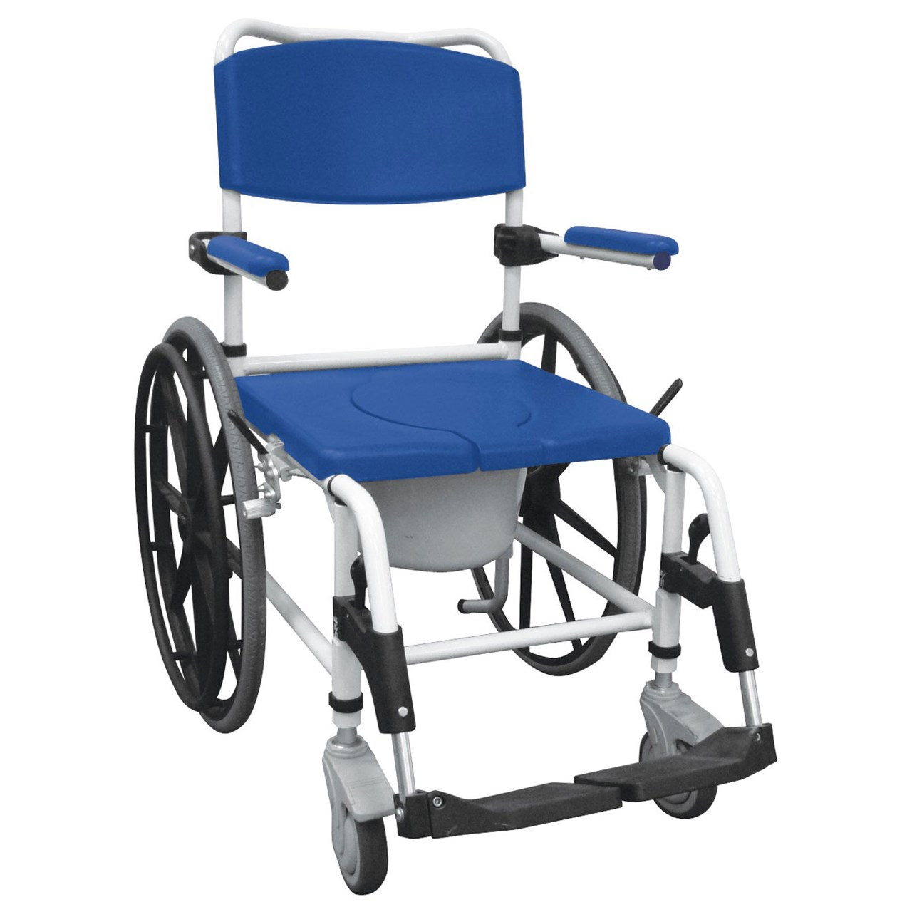 Shower Chair With Wheels Maxiaids Aluminum Rehab Shower Commode Chair With 24