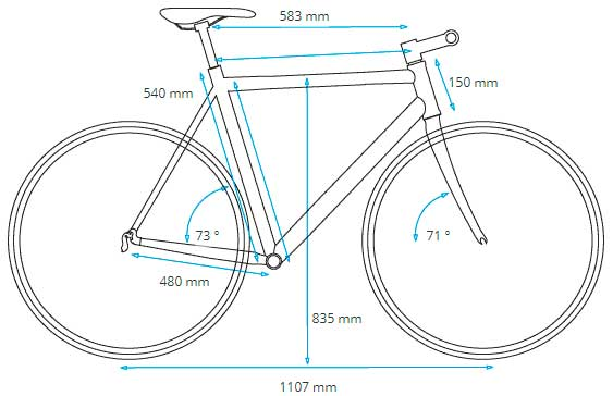 El talle de tu bici
