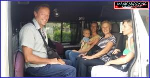 Maxi cab airport transfer