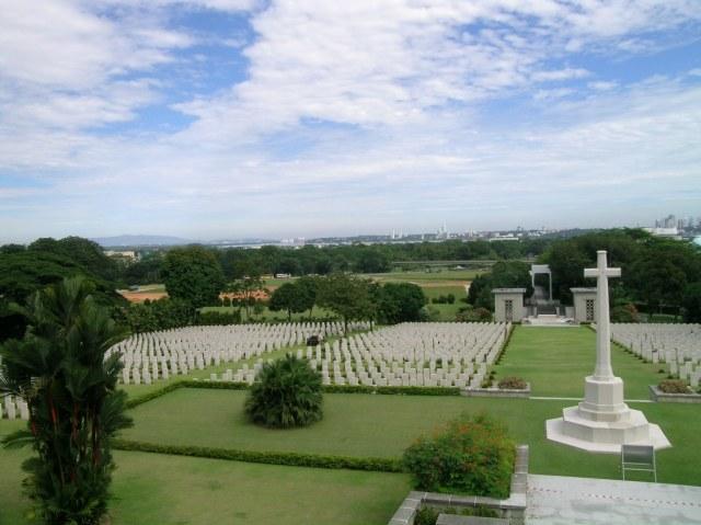 %name Kranji War Memorial in Singapore