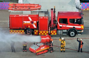 ndp st scdf 300x196 Central Fire Station in Singapore