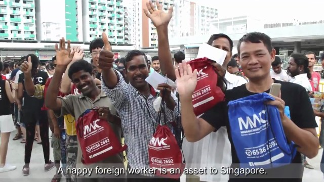 migrant workers video 01 300x169 Labour Day in Singapore 2020